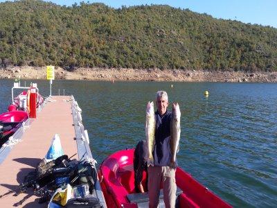 Alquiler barca de pesca de 15 cv en Ponts 8 horas