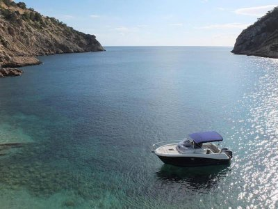 Despedida en barco en Ibiza 8 horas temporada alta
