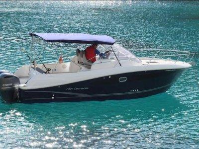 Evento de empresa con barco en Ibiza 8h temp alta