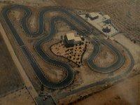 Vista aérea del circuito.