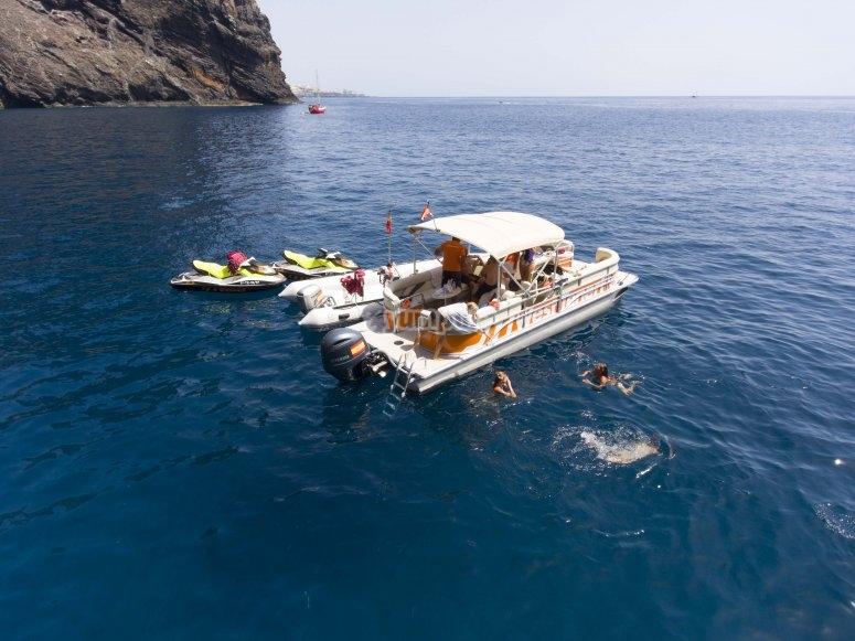 Jornada acuática en Tenerife