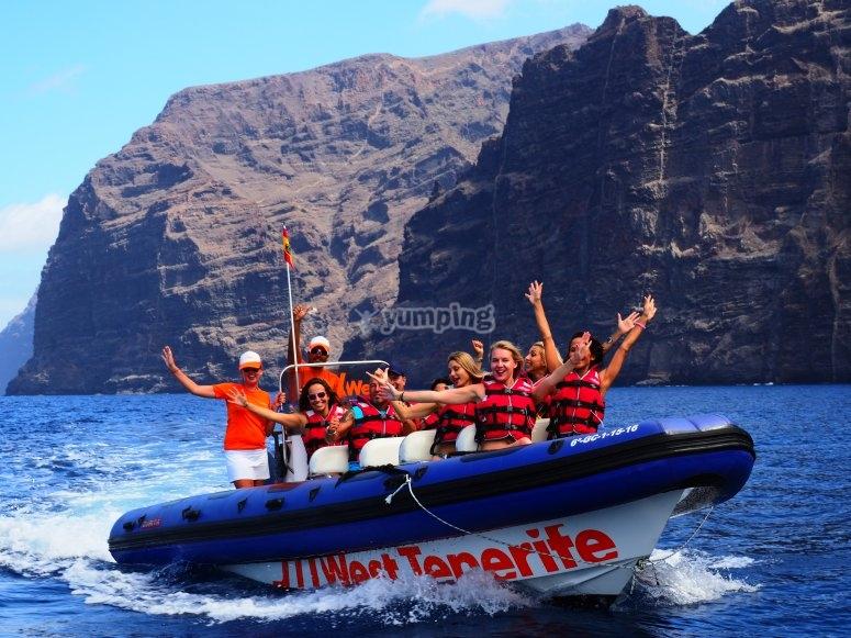 Embarcación en Tenerife