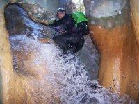 Susi down the ravine