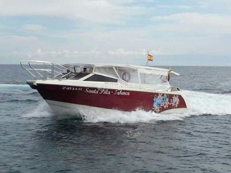 Barco a Tabarca