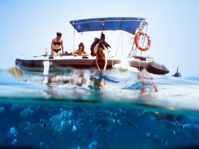 Alquila embarcación semi rígida peque Alicante 4h