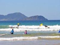 Surf en olas espuma