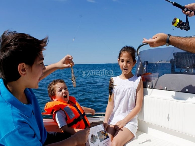 Capturas de pesca
