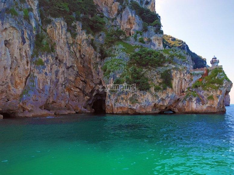 The cliffs of Noja