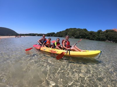 Kayak rental for kids in Noja, 1 hour