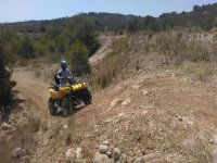 Recorrido off road en quad