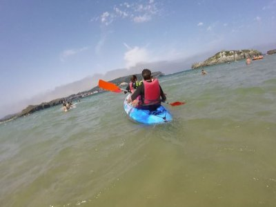 2-hour canoeing trip in Playa de Ris, Noja