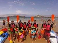 Recorrido en kayak por la costa de Noja 2 horas