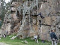 initiation to climbing