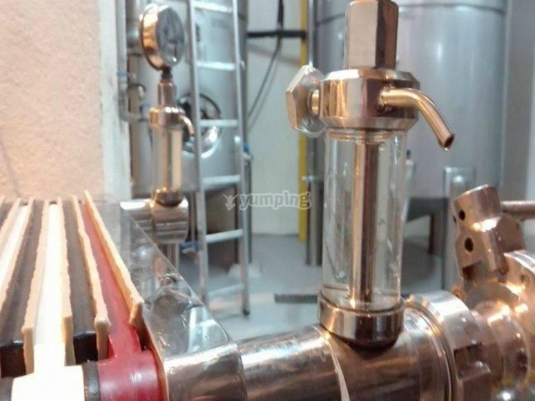 El proceso del vino