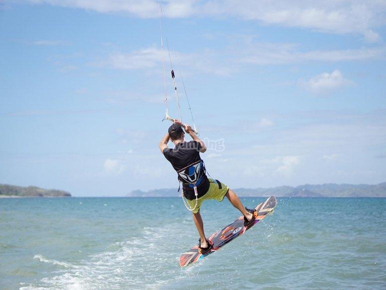 Volando con el kite