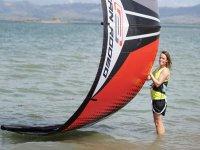 加的斯私人风筝冲浪课程3小时