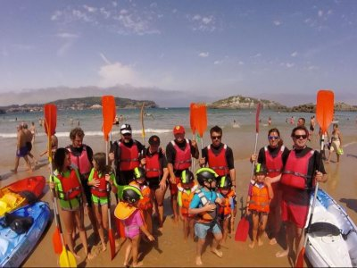 2-Hour Canoeing Trip for Children in Playa de Ris