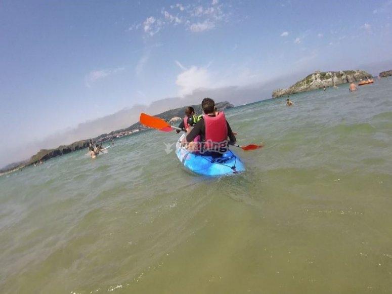 Canottaggio coordinato da Playa de Ris