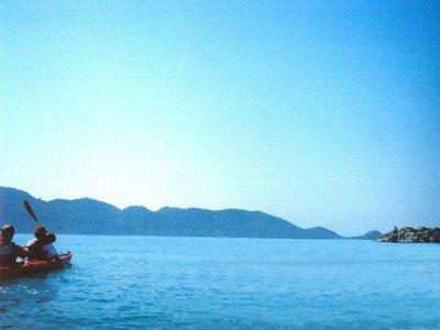 Kayak individual en alquiler Mojácar 30 minutos