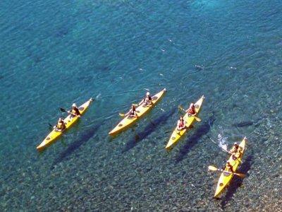 Kayak doble para alquilar en Mojácar 30 minutos