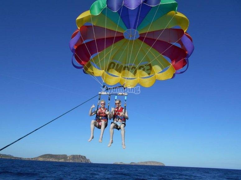 Paracadutismo a Ibiza