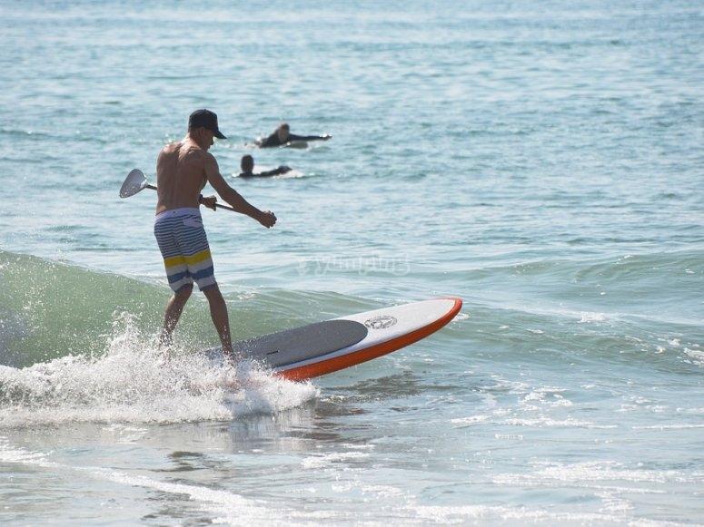 Alquiler de paddle surf en Almería