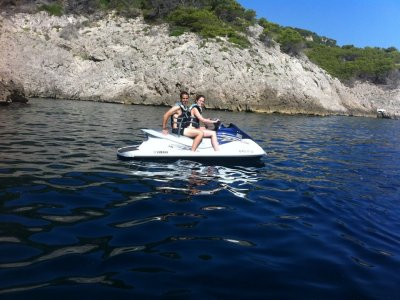 Two-Seater Jet Ski trip in L'Escala for 15 Minutes