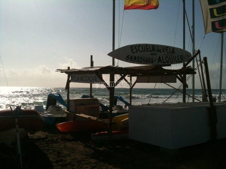 Escuela de Windsurf en Almería