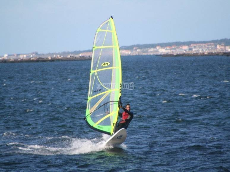 Iniciación en windsurf
