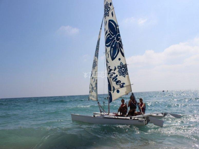 Sailing in Mojácar