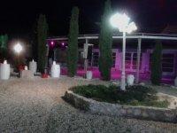 Zona para eventos de noche