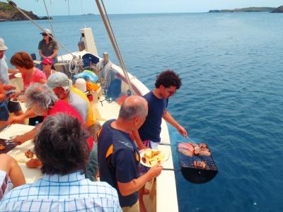 Sailing boat Cap de Creus, low season