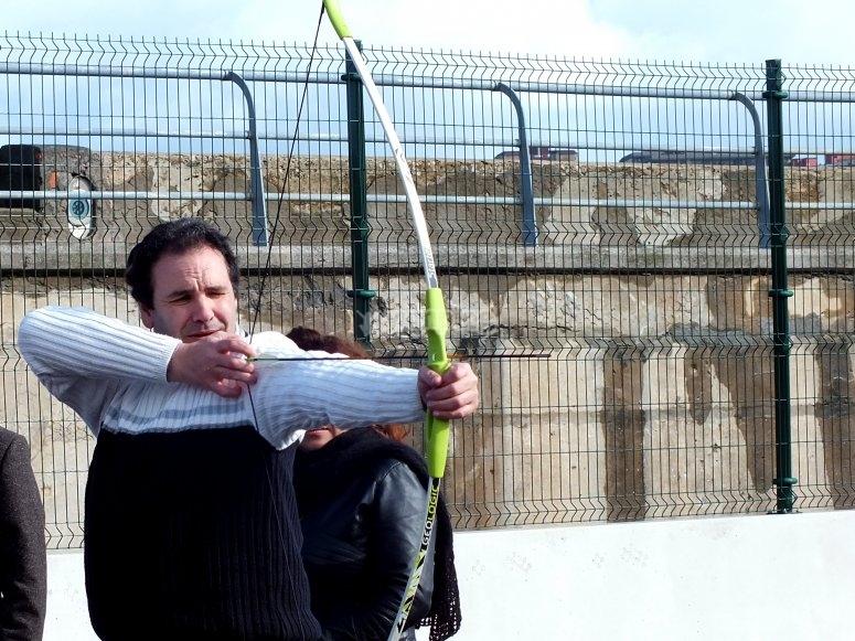 Lanzando flechas