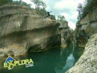 Rio inside the ravine