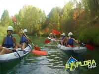 Walking in the canoes in Cuenca