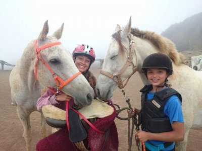 Horse-Riding Camp at La Laguna, Christmas