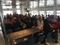 Catamaran route in Mojácar for kids, 50 minutes