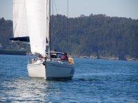 Ruta en barco en A Coruna