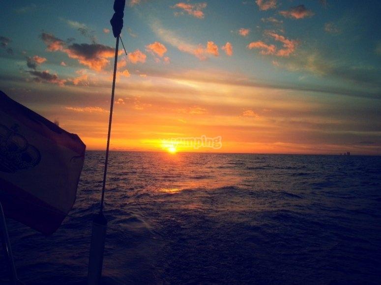 Denia的日落