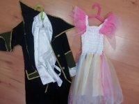 两个球计数的服装和公主
