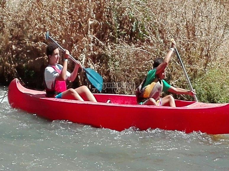 Descenso en canoa Guadajara