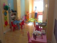公主粉红色房间园儿童与儿童背景儿童游乐场