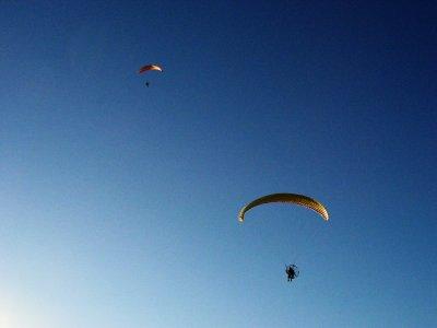 Volar en paramotor en Sierra de Santo Domingo