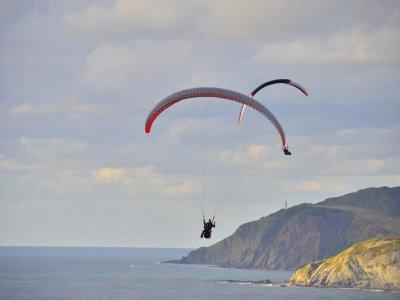 30 min 2-seater paragliding in Sopelana