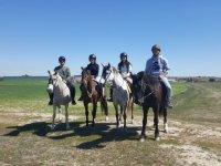 Horse-riding route in Cuba de la Sagras, 1h