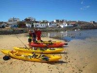 Tours kayak+pesca