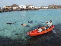 snorkel+kayak