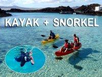 kayak+snorkel