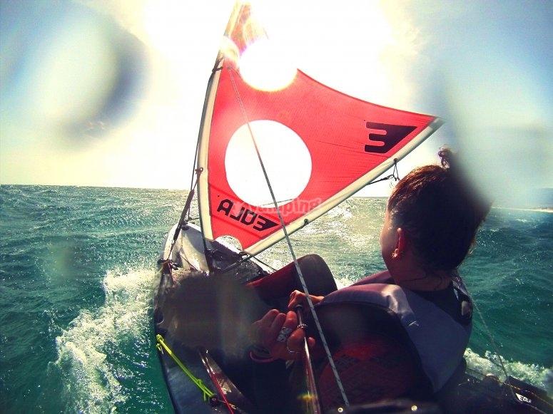 Percorso kayak a Tarifa