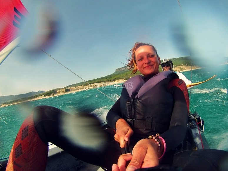 Emocionate con el kayak